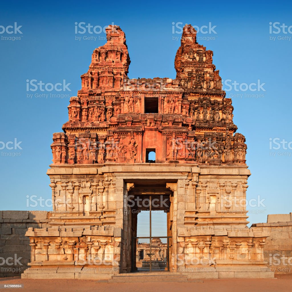 Vittala temple stock photo