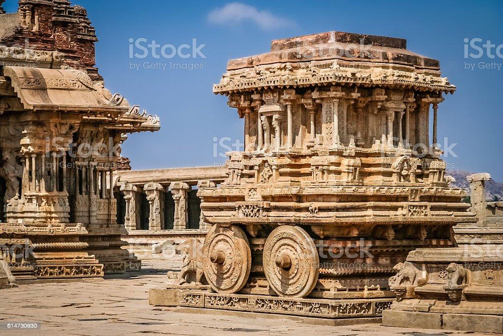 Vittalla temple stock photo