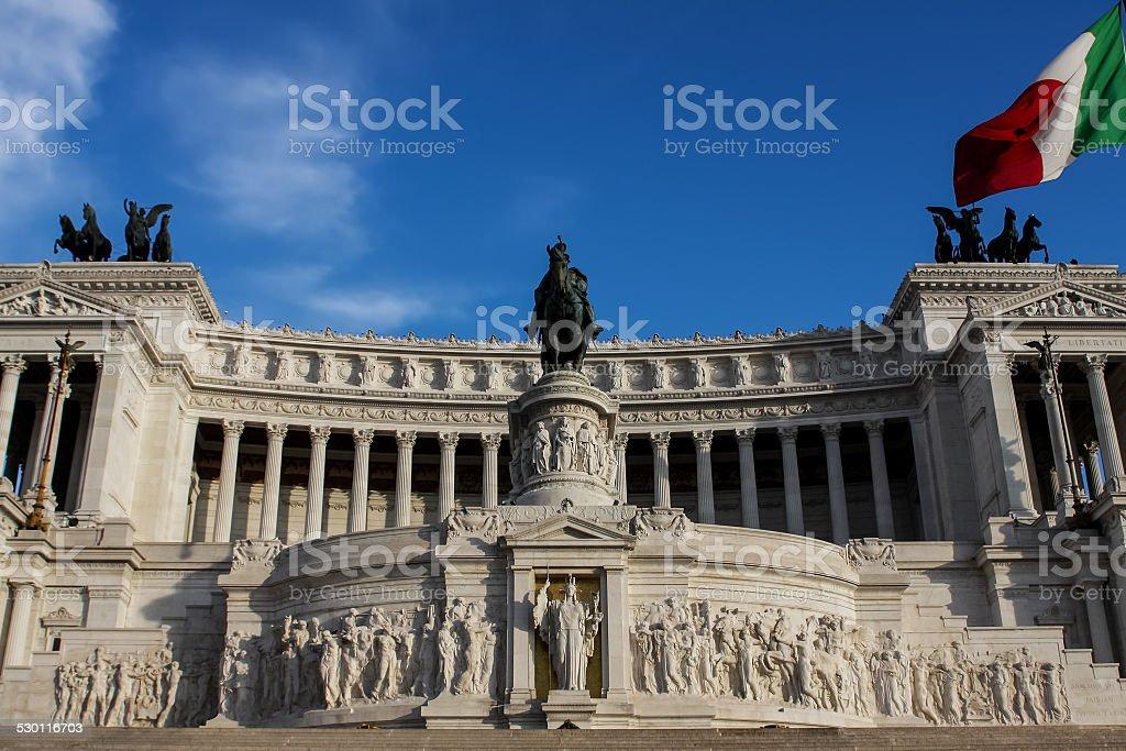 Vittoriano in Rome, Italy stock photo