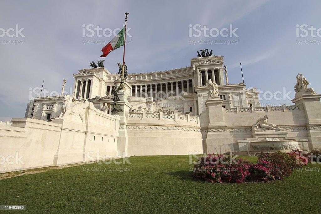 Vittoriano royalty-free stock photo