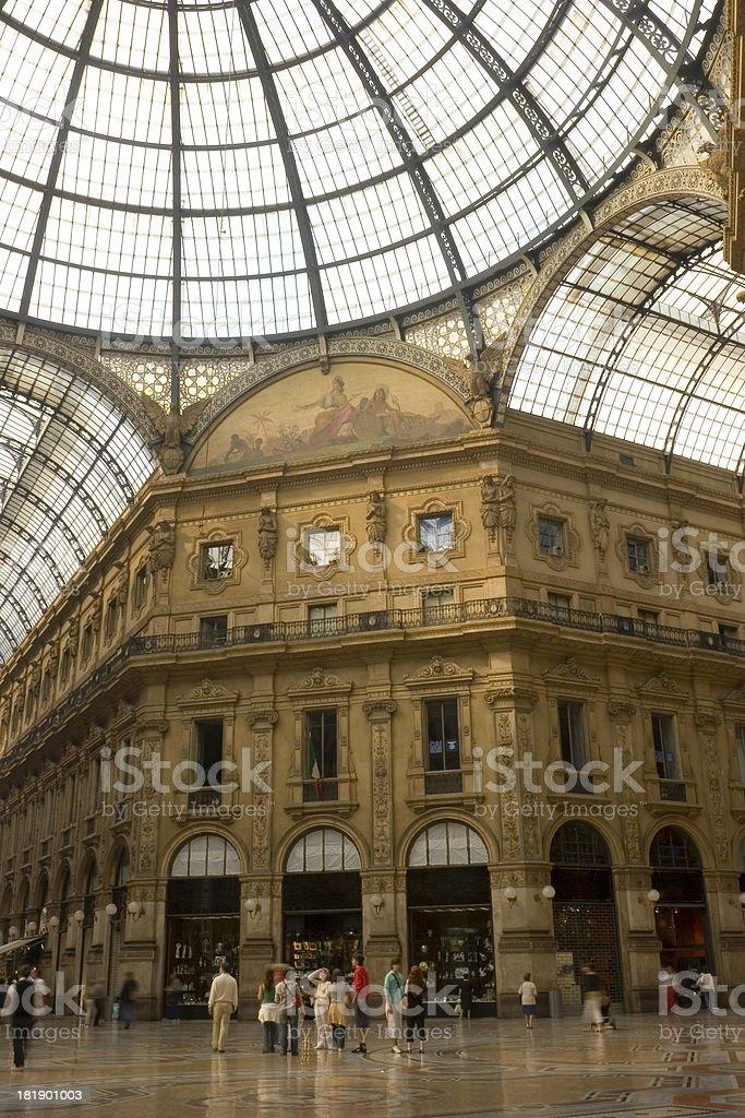Galleria Vittorio Emanuele II stock photo