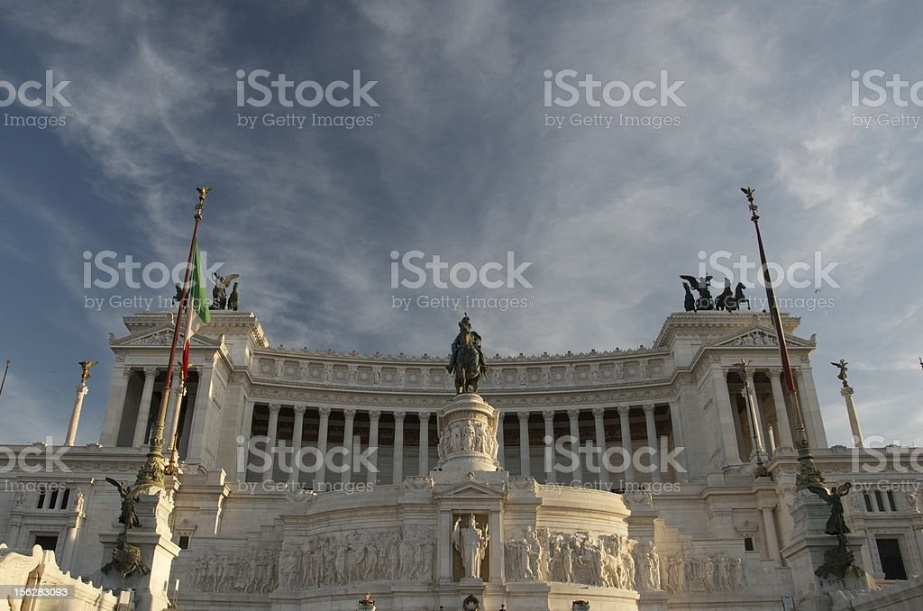 Vittorio Emanuele II royalty-free stock photo