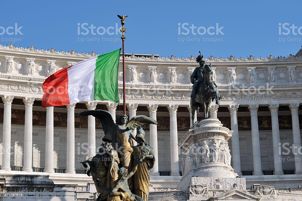 Vittorio Emanuele II stock photo