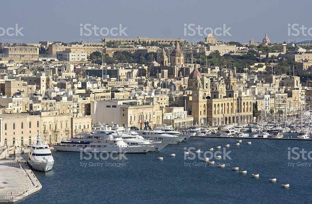 Vittoriosa Harbor View stock photo