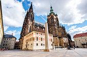 Vitus cathedral in Prague