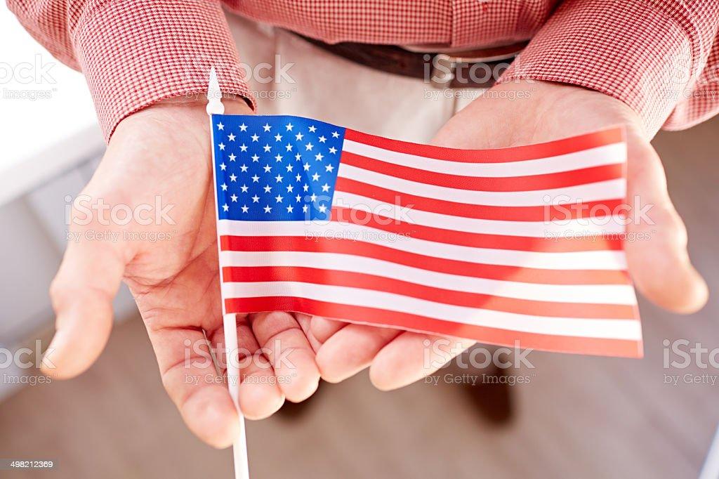 Viva America! stock photo