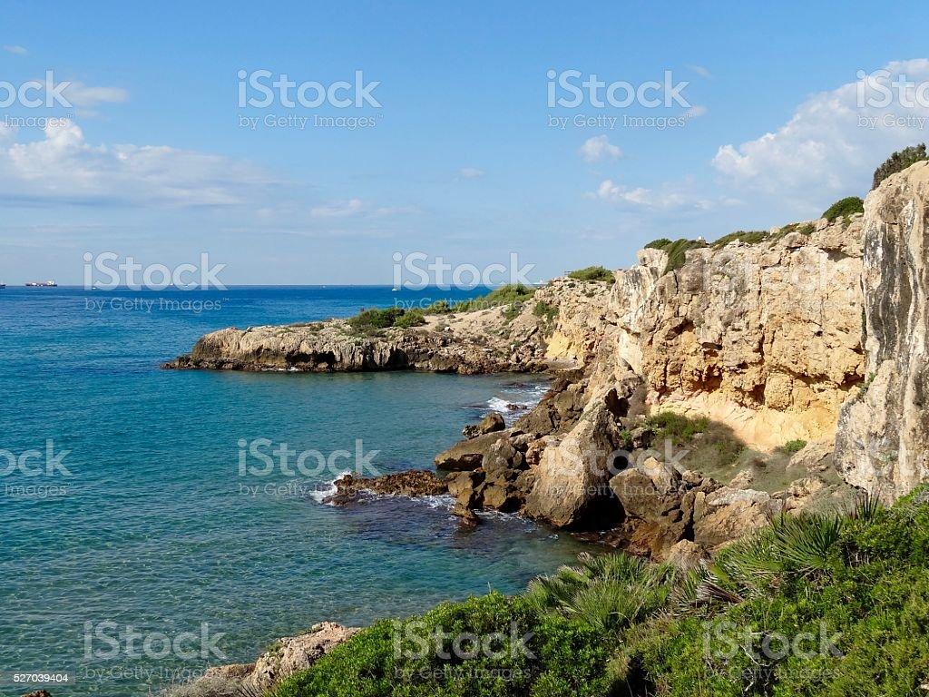 Viva Katalonien stock photo