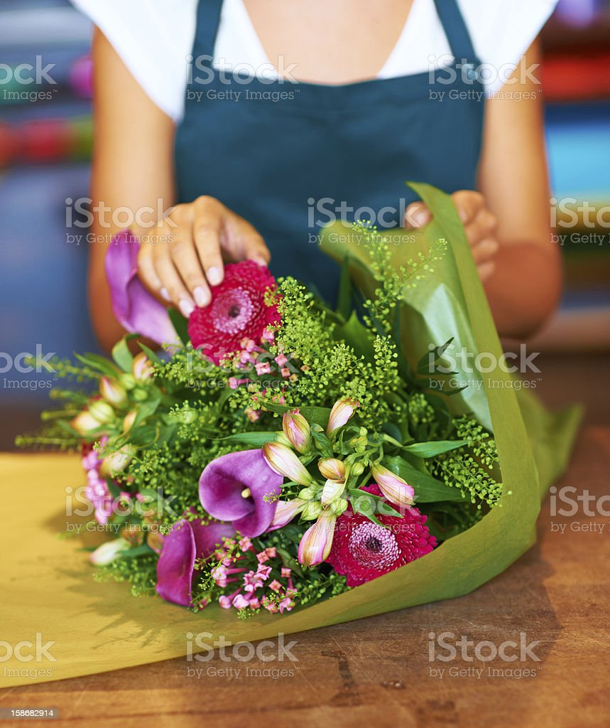 Vivid blooms which will make the perfect gift stock photo