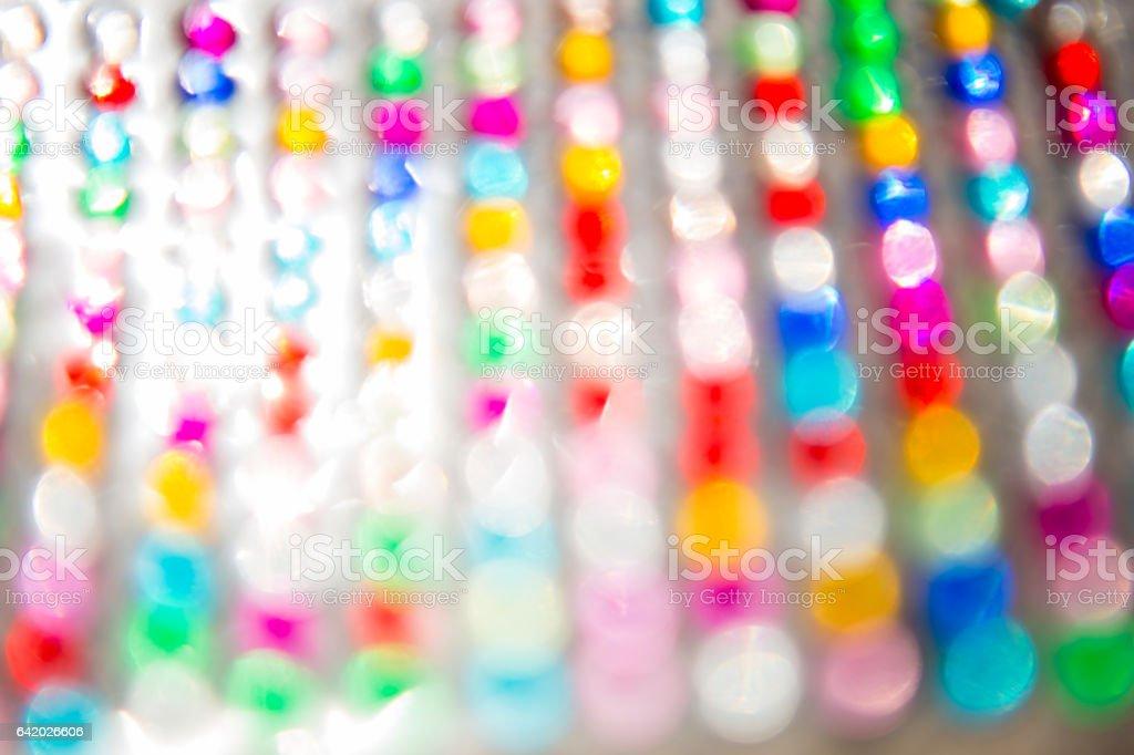 vivid bokeh blur background. stock photo