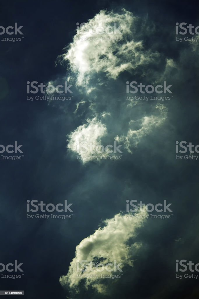 Vivid Clouds royalty-free stock photo