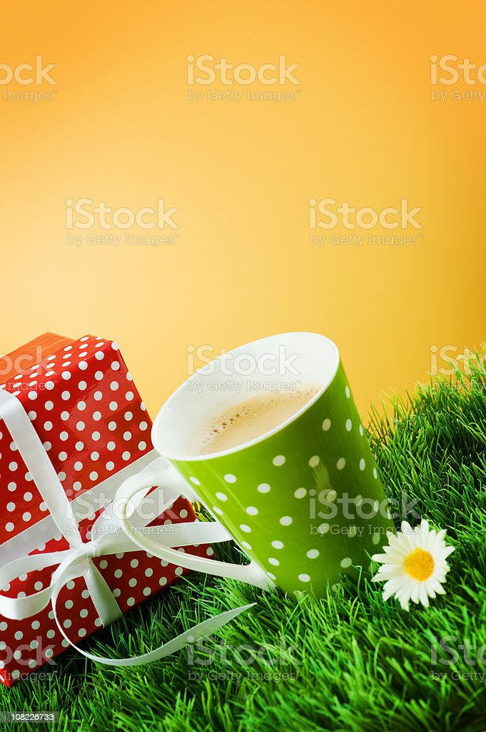 Vivid Coffee royalty-free stock photo