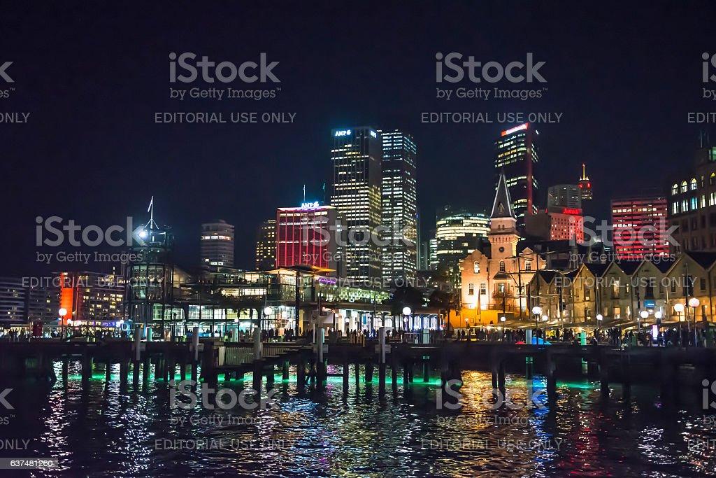 Vivid Festival, Sydney, Australia stock photo