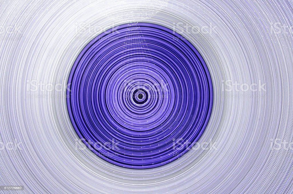 Vivid geometry stock photo