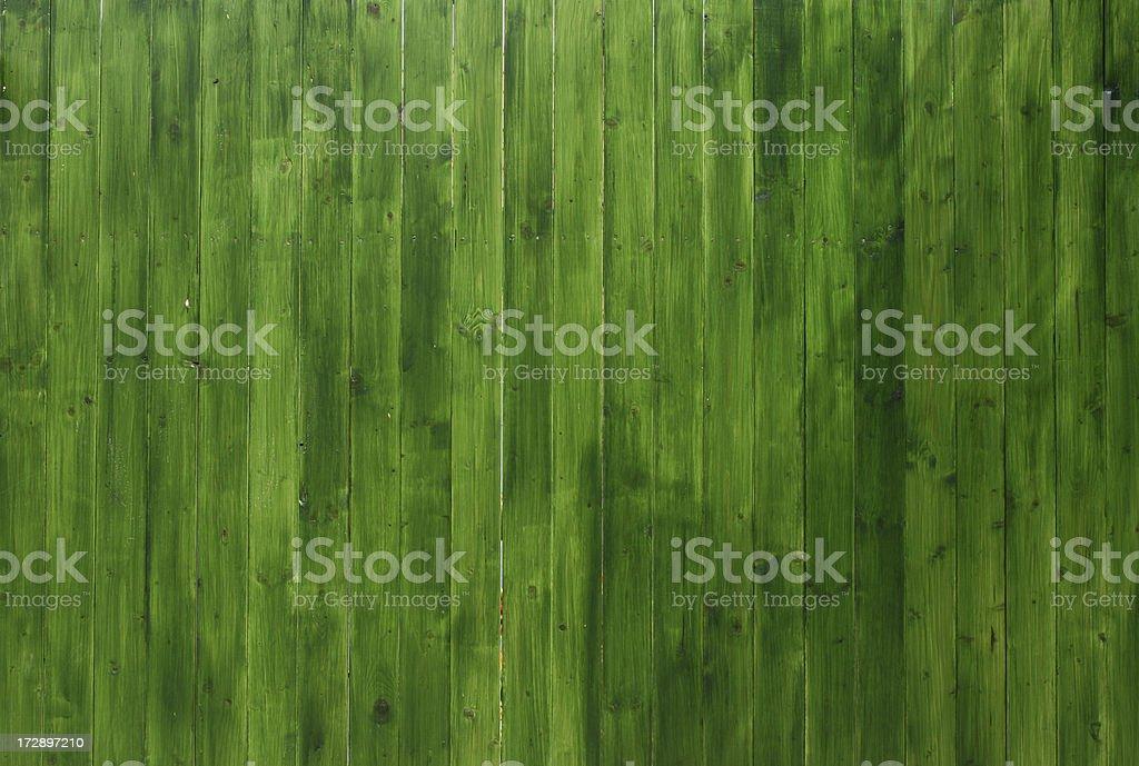 Vivid Green Wooden Texture royalty-free stock photo