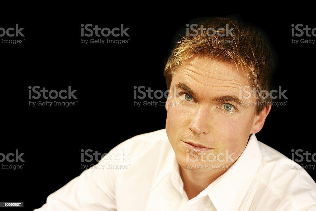 Vivid Man royalty-free stock photo