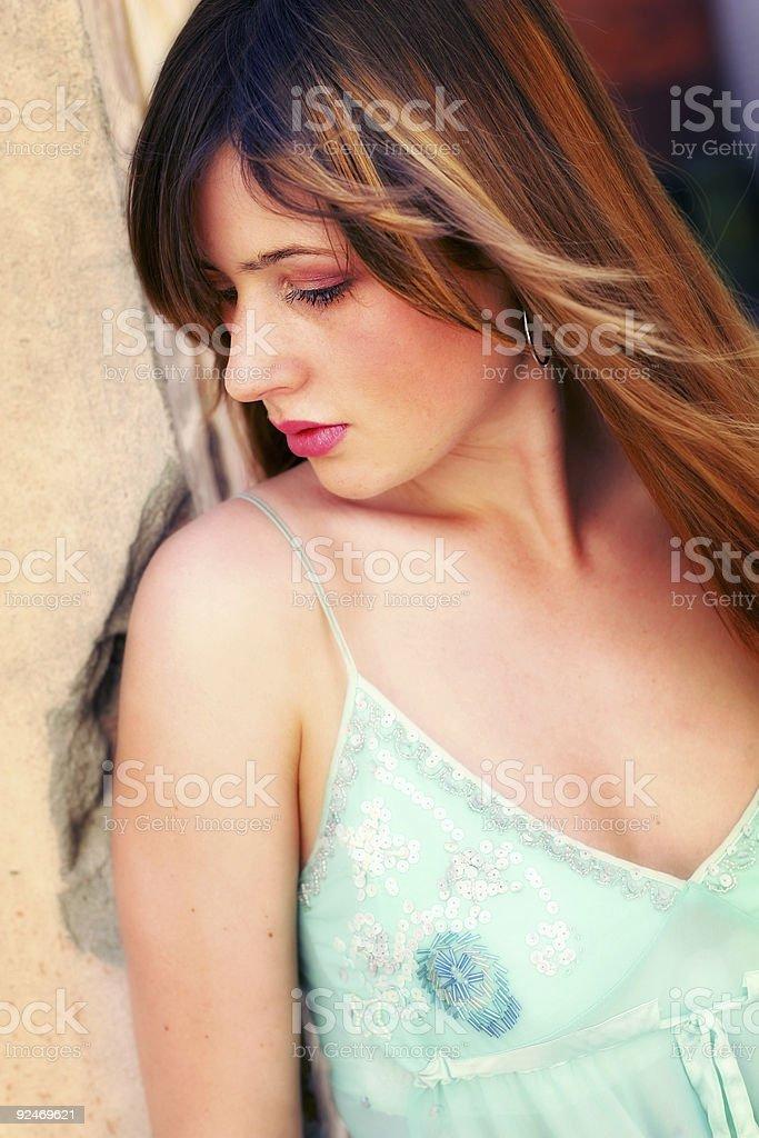 Vivid Shyness stock photo