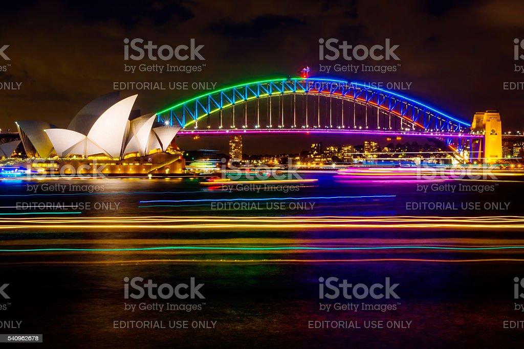 Vivid Sydney 2016 stock photo