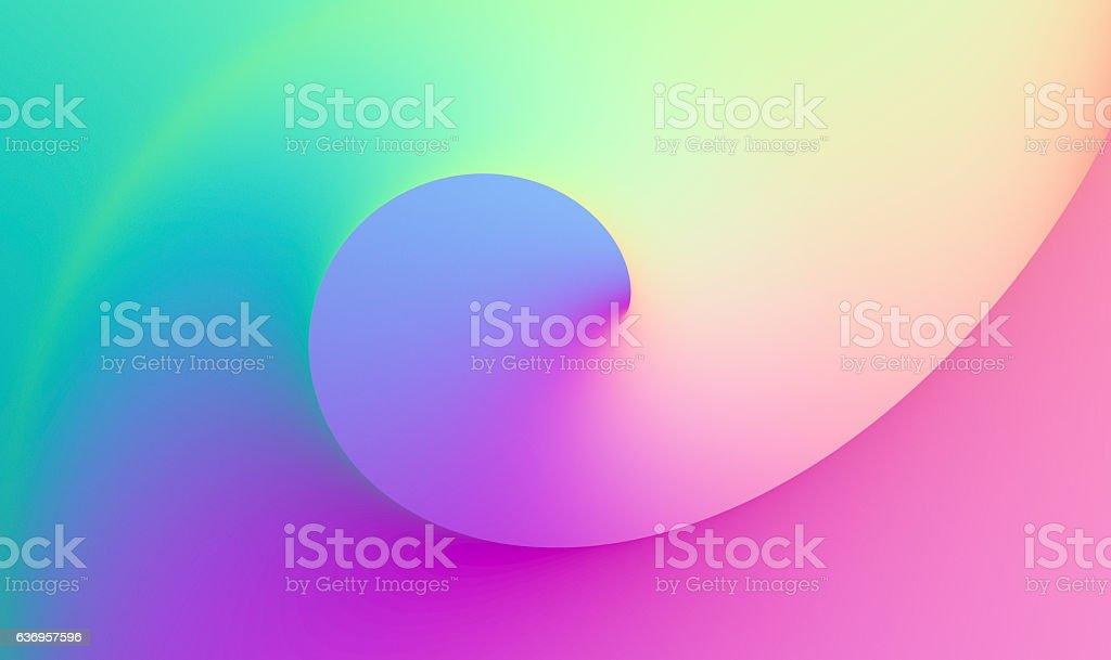 Vivid Twist Wallpaper Background stock photo