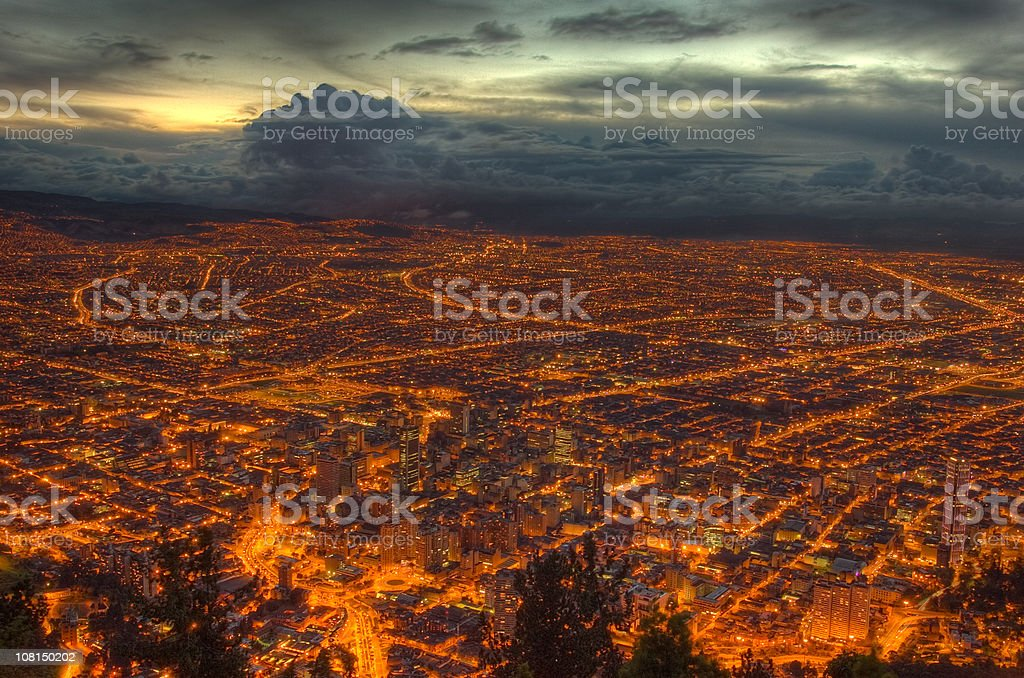 Vivid veins of the city royalty-free stock photo