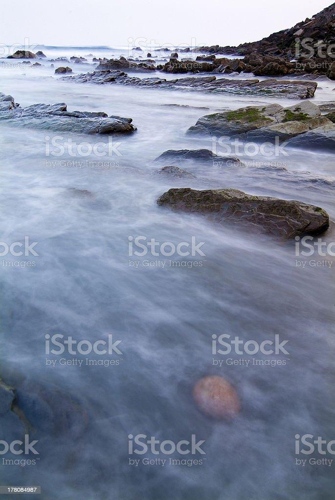 Vizcaya Beach royalty-free stock photo
