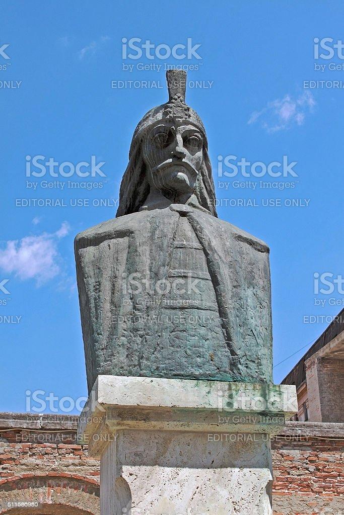 Vlad III, or Vlad the Impaler, or Dracula. Bucharest, Romania. stock photo