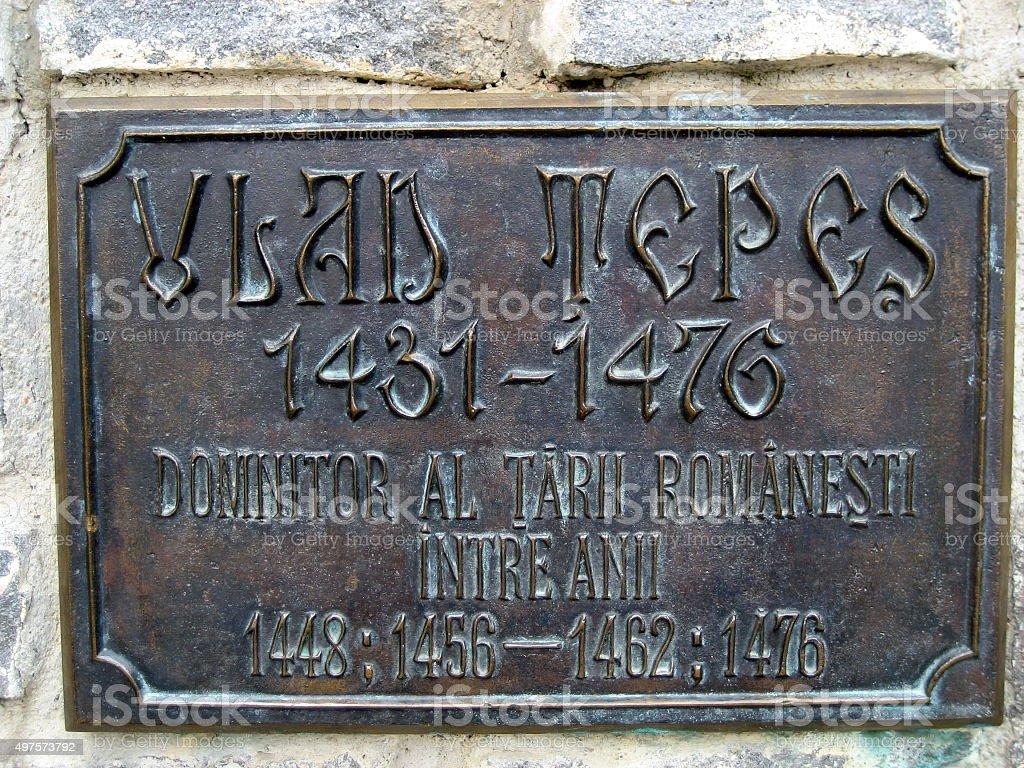 Vlad Tepes, Transylvania - Romania stock photo