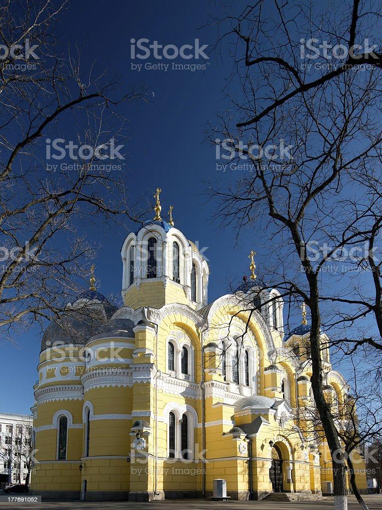 Vladimir Cathedral in Kiev, Ukraine royalty-free stock photo