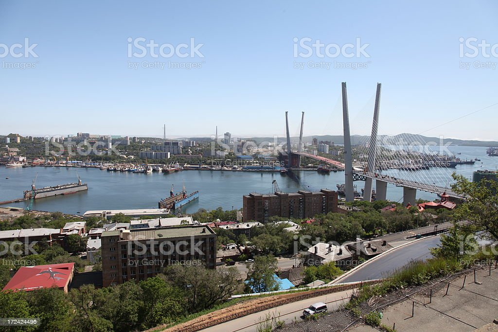 Vladivostok stock photo