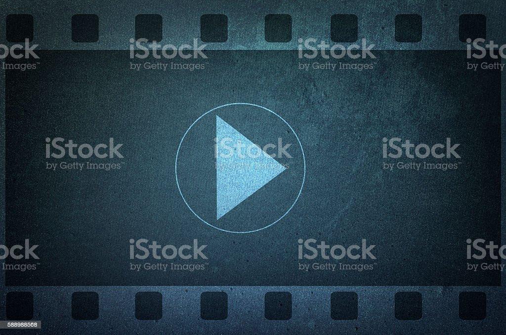 Vlog banner, video blogging stock photo