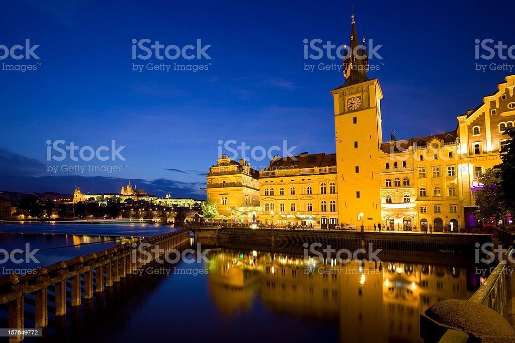 Vltava River, Prague royalty-free stock photo