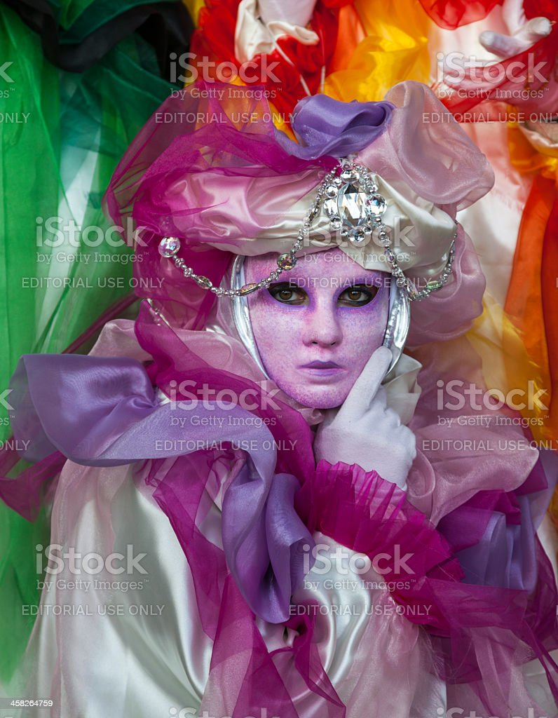 Vnetian Mask royalty-free stock photo