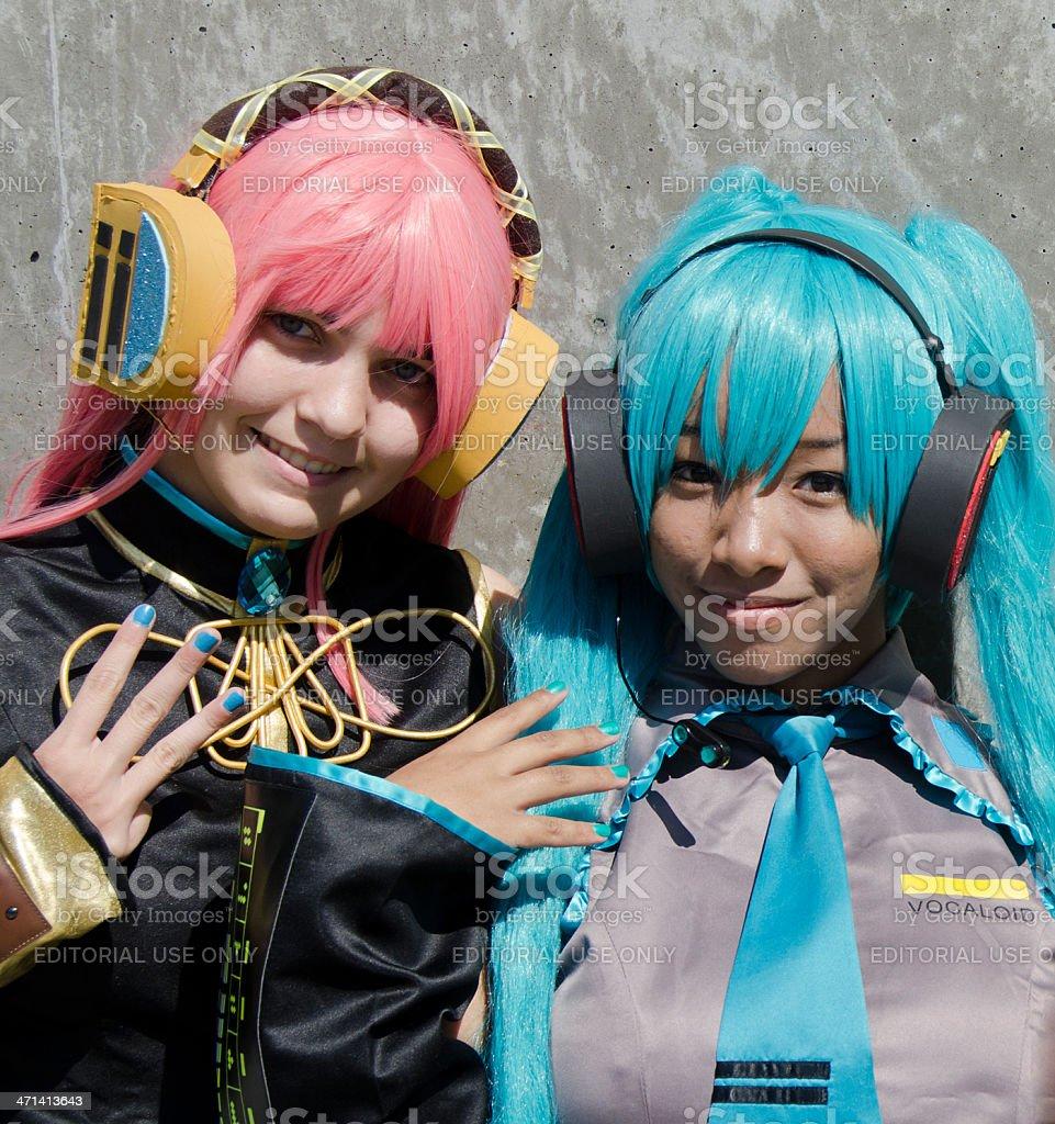 Vocaloids stock photo