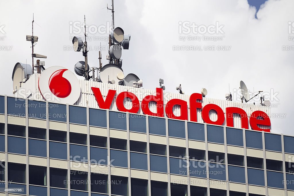 Vodafone stock photo