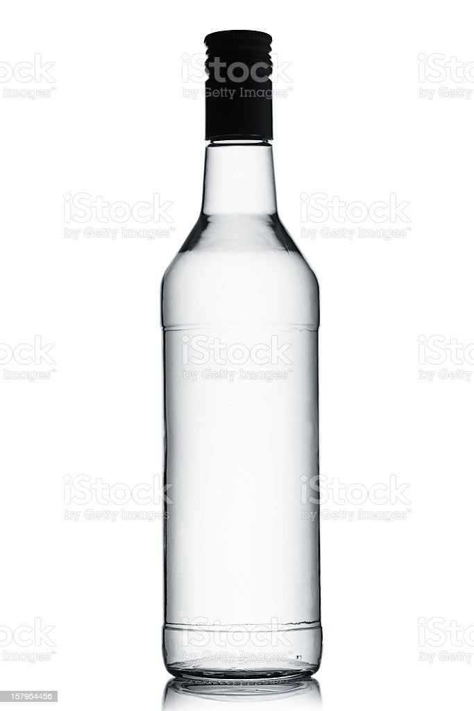 Vodka. stock photo