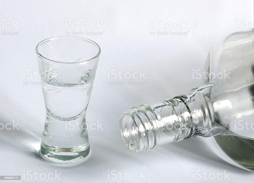 Vodka. foto de stock libre de derechos