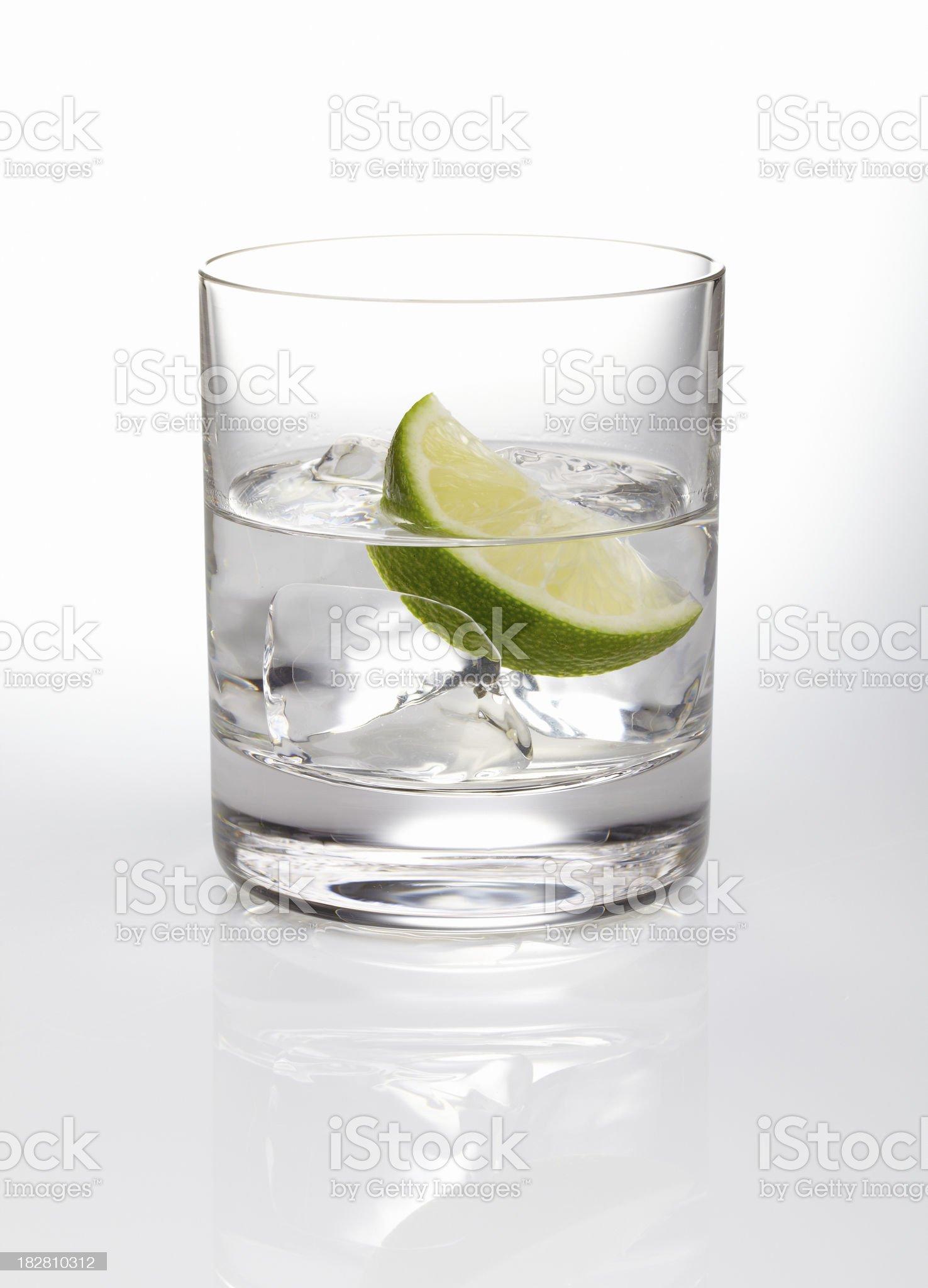 Vodka rocks royalty-free stock photo