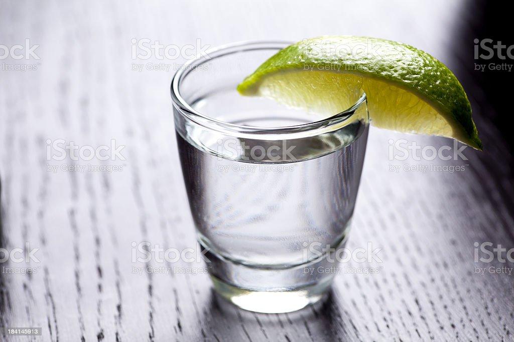 Vodka shot royalty-free stock photo