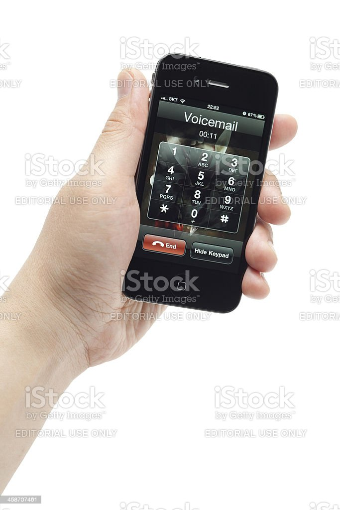Voice mail royalty-free stock photo