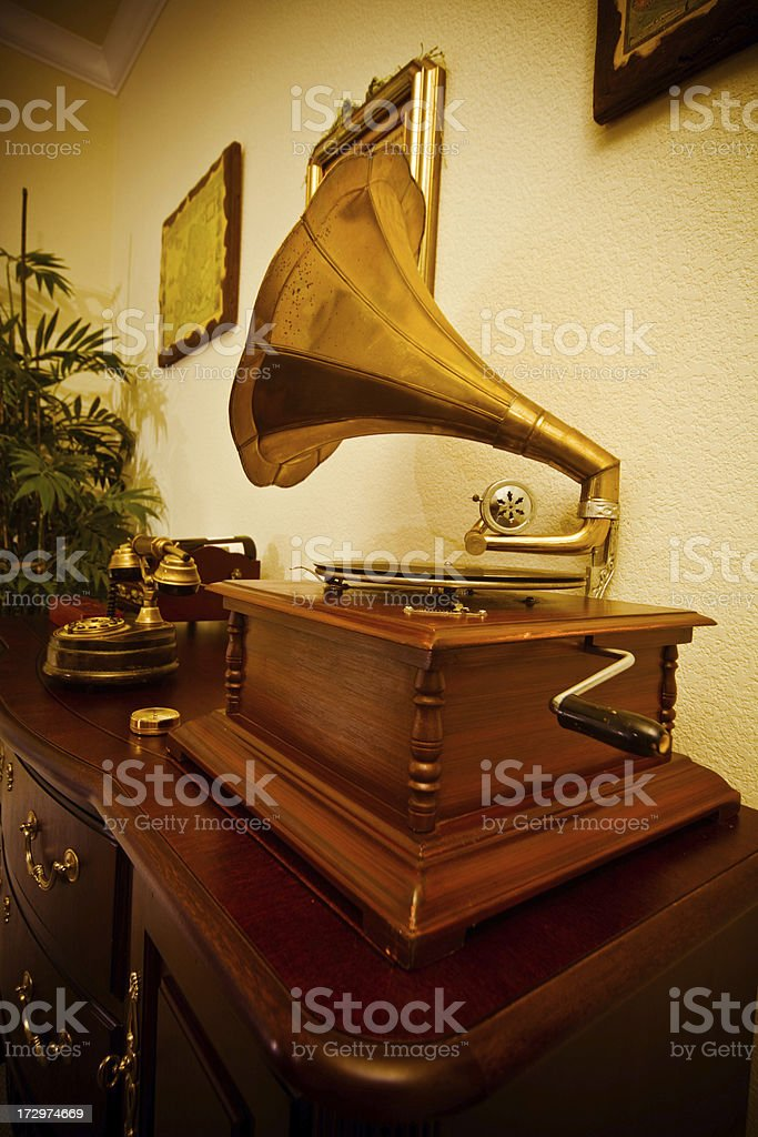 Voice Of His Master royalty-free stock photo