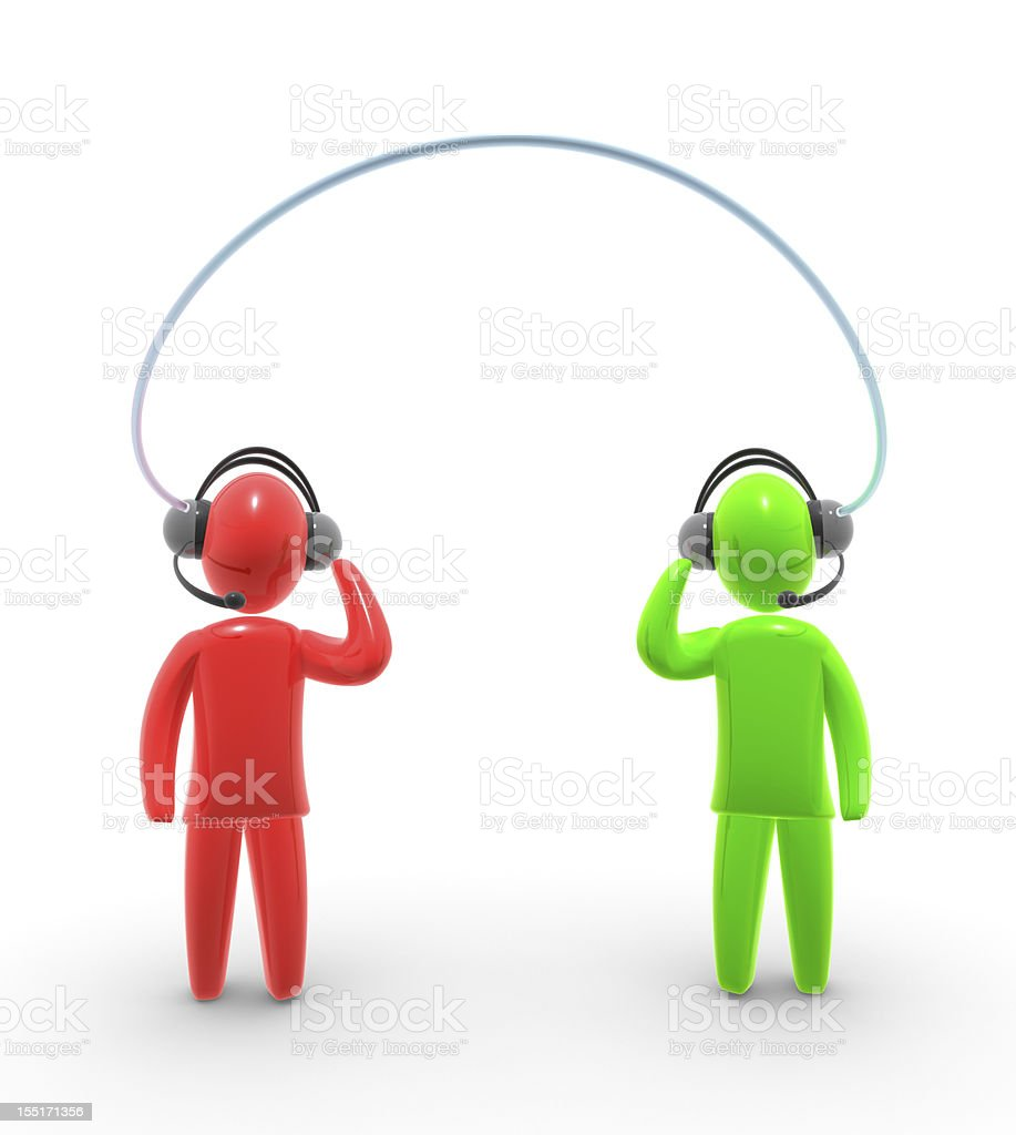 Voice over IP royalty-free stock photo