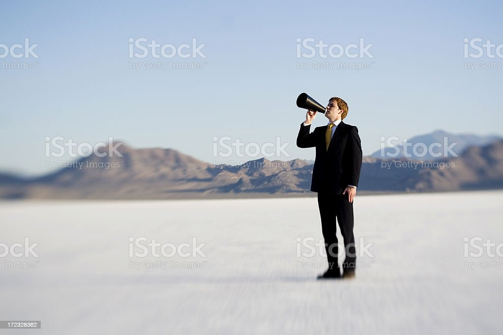 Voice royalty-free stock photo
