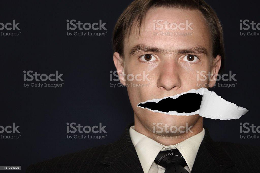 Voiceless stock photo