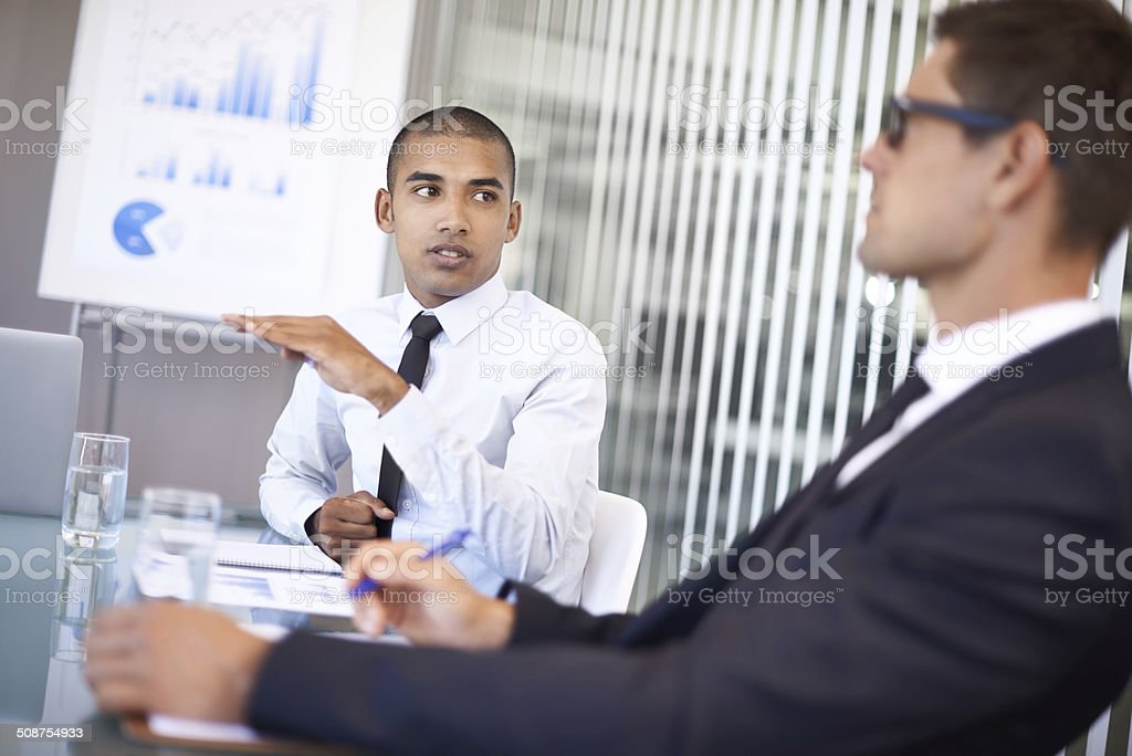 Voicing his opinions royalty-free stock photo