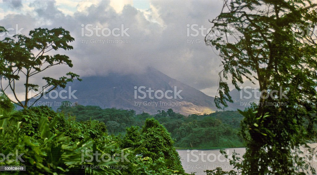 Volcan Arenal stock photo