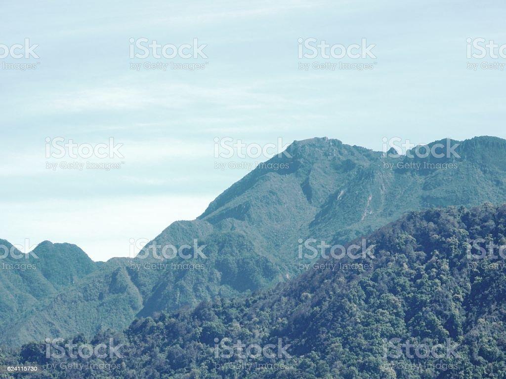 Volcan Baru stock photo