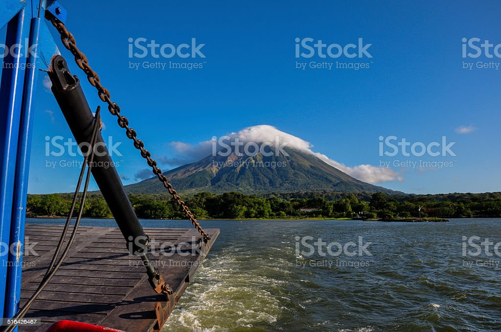 Volcan Concepcion, Isla Ometepe, Nicaragua stock photo