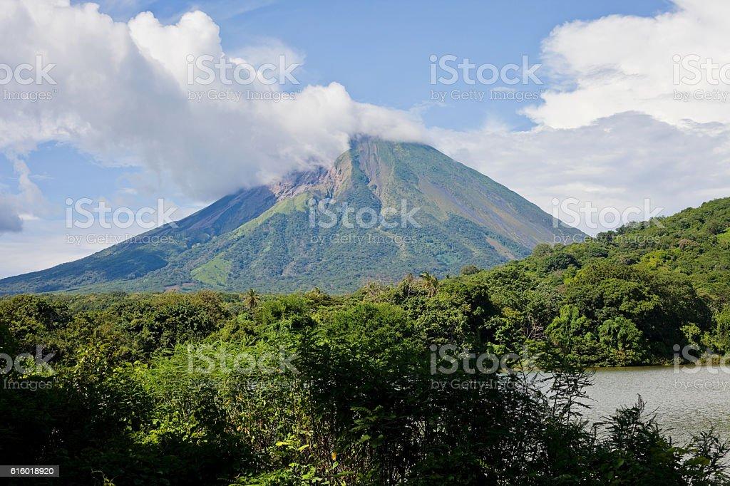 Volcan Concepcion stock photo