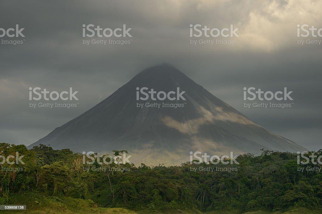 Volcan De Arenal stock photo