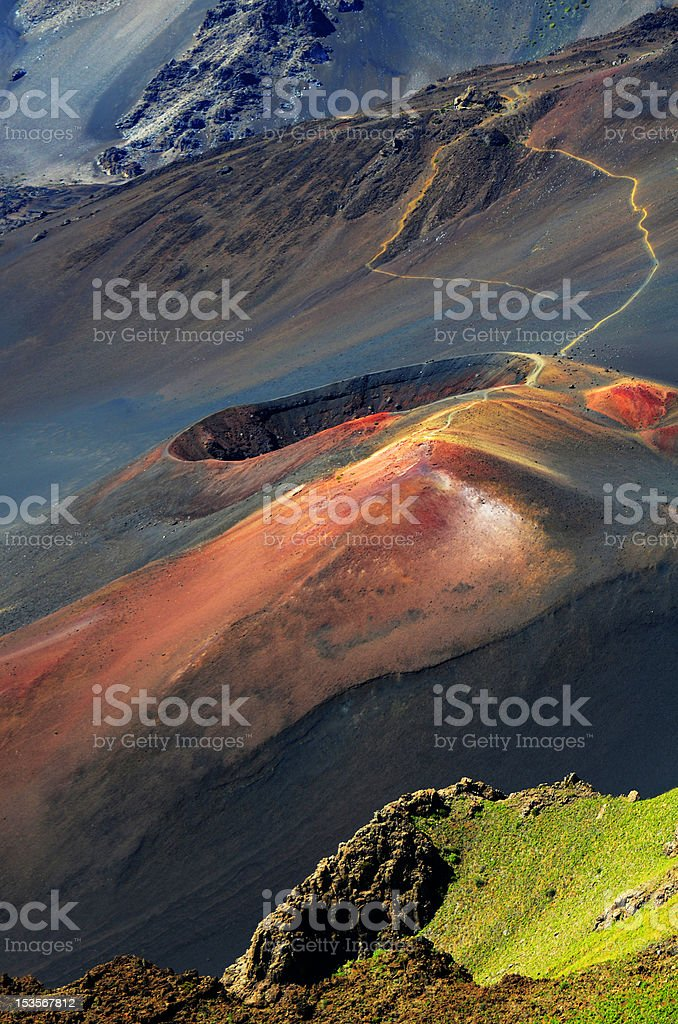 Volcanic Cinder Cone royalty-free stock photo