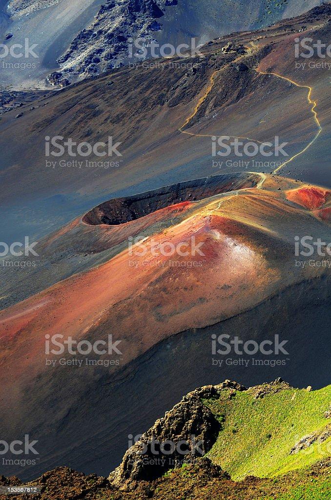 Volcanic Cinder Cone stock photo
